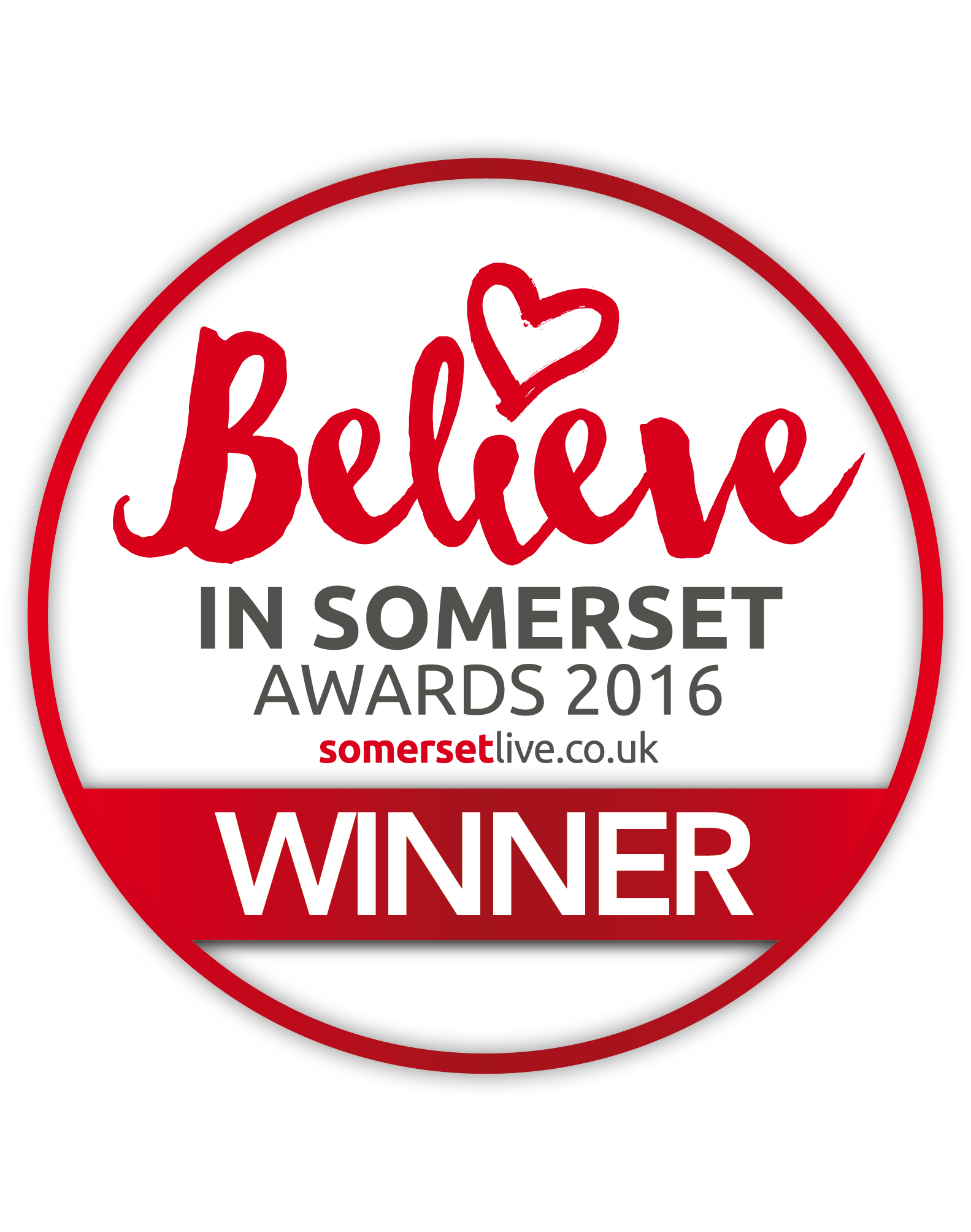 Believe in Somerset Logo